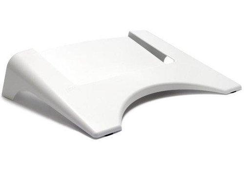 Dutch Design Anti RSI Laptop - Notebook standaard - Wit  15 inch