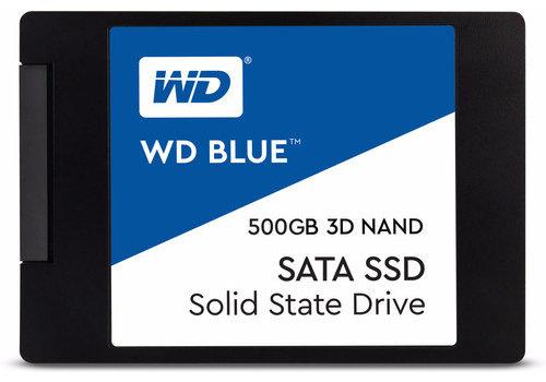 WD Blue 3D NAND 500GB SSD 2,5 inch
