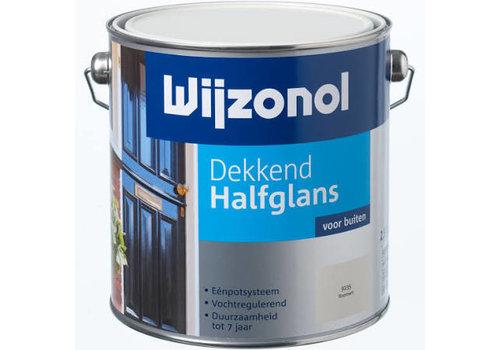 Wijzonol dekkend halfglans voor buiten RAL 9010 2,5 liter