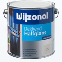 Wijzonol dekkend halfglans voor buiten RAL 9001 2,5 liter