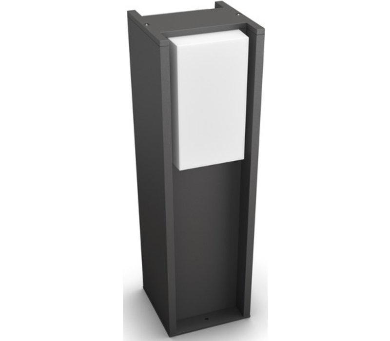 Philips Hue Turaco Sokkellamp Laag White Buiten