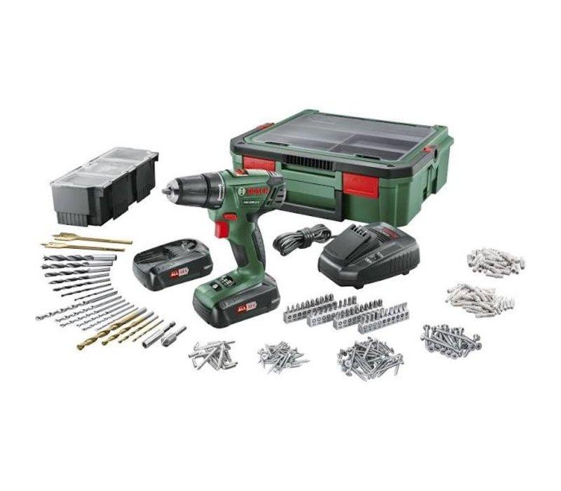 Bosch accuboormachine PSR 1800 LI-2 systeembox