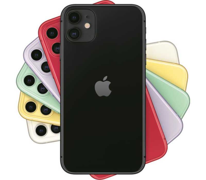 Apple iPhone 11 256GB Zwart