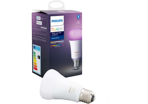 Philips Hue White and Color E27 Bluetooth Losse Lamp