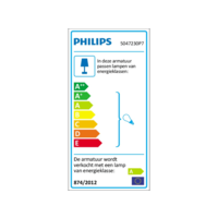 Philips Hue Buckram 2-Spot Zwart
