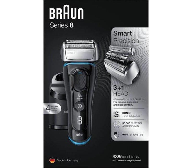 Braun Series 8 8385cc met Clean&Charge-station