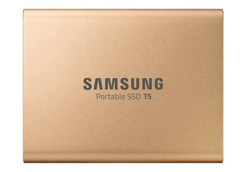 Samsung Portable SSD T5 500GB Goud