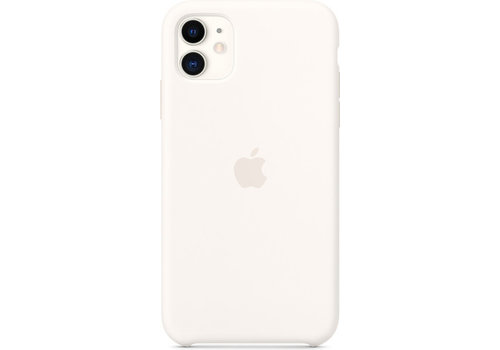 Apple iPhone 11 Silicone Back Cover Wit