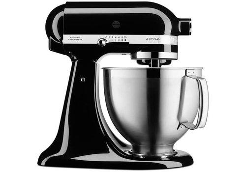 KitchenAid Artisan keukenmachine 4,8 liter 5KSM185PSEOBS  Onyx zwart