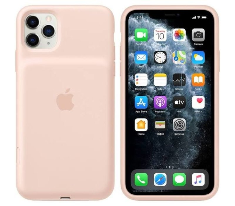 iPhone 11 Pro Smart Battery Case Rozenkwarts