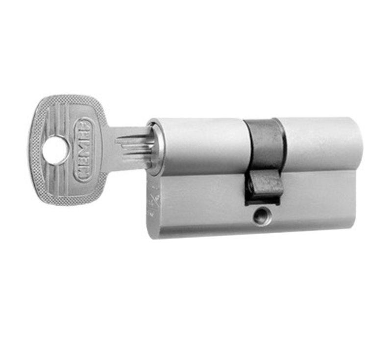 Nemef veiligheidscilinder 30/30 mm 132/9 SKG 3-sterren gelijksluitend 3 stuks