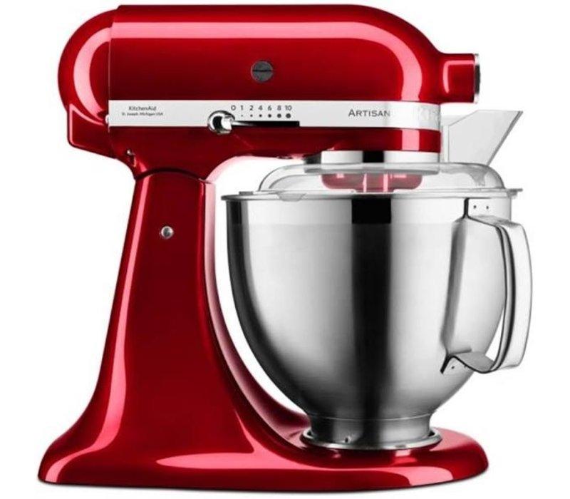 KitchenAid Artisan keukenmachine 4,8 liter 5KSM185PSECA Appelrood