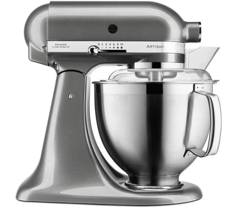 KitchenAid Artisan keukenmachine 4,8 liter 5KSM185PSEMS Tintgrijs