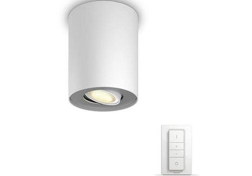 Philips Hue Pillar spotlamp wit met dimmer