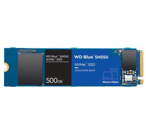 WD Blue SN550 NVMe 500 GB SSD