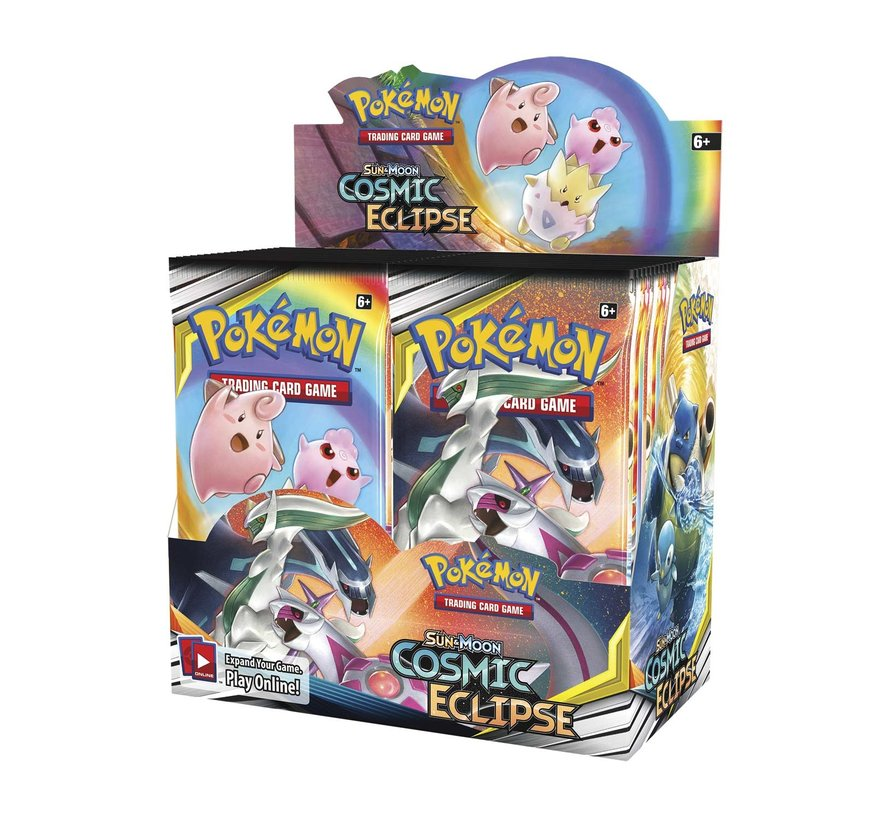 Pokemon Sun & Moon Cosmic Eclipse Booster Box