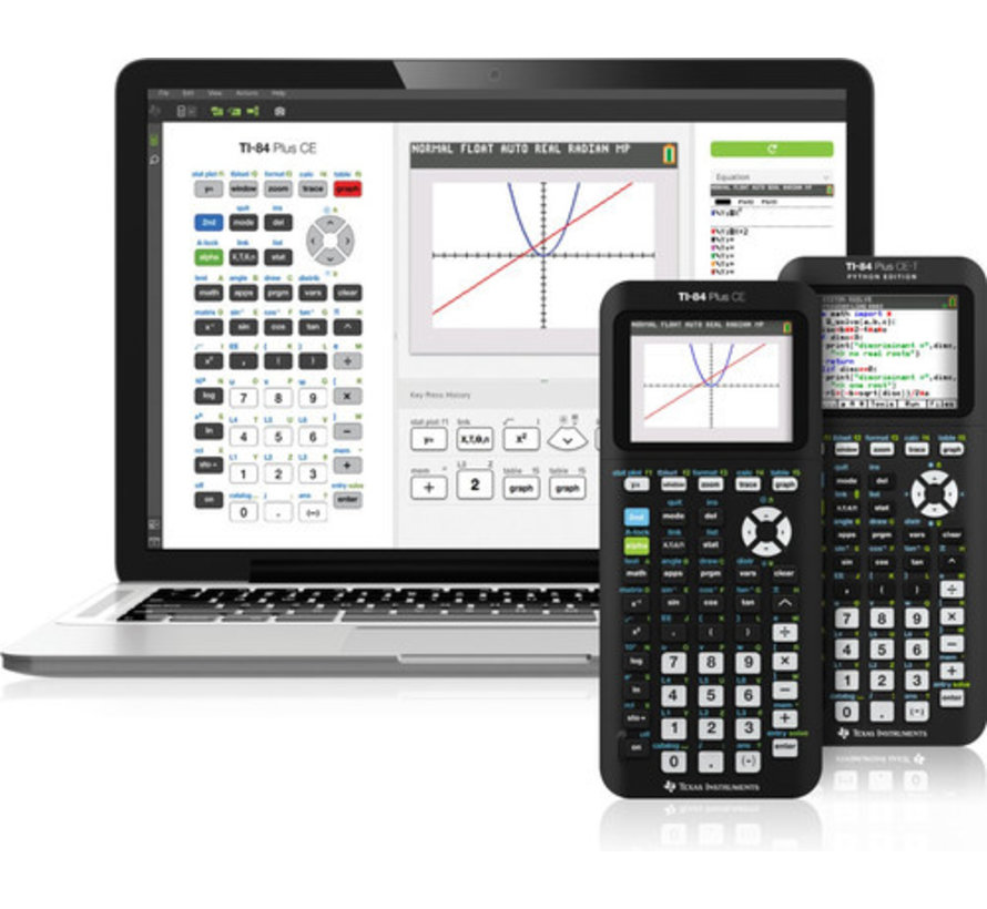 Texas Instruments TI-84 Plus CE-T Python met examenstand