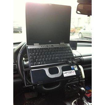 ExpressDesk autolaptophouder voor op het stuur