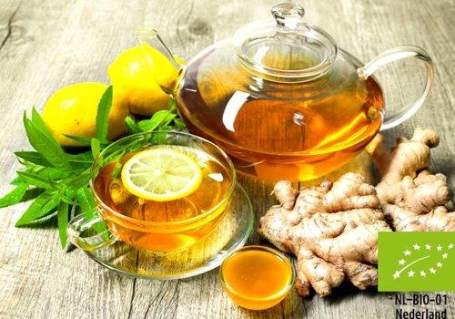 Biologische Kruiden, specerijen  en bloemen ( tisane)