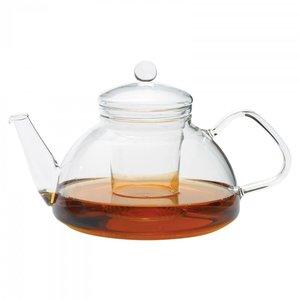Trendglas Jena Glazen theepot Theo van hittebestendig borosilicaatglas 1,2 liter