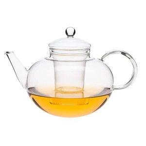 Trendglas Jena Glazen theepot Miko van hittebestendig borosilicaatglas inhoud 1,2 liter