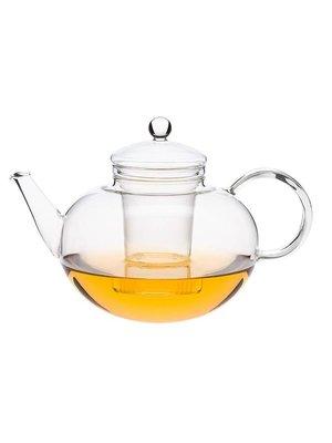 Glazen theepot Miko van hittebestendig borosilicaatglas inhoud 1,2 liter