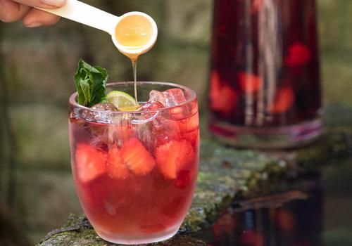 Vruchten of ijsthee