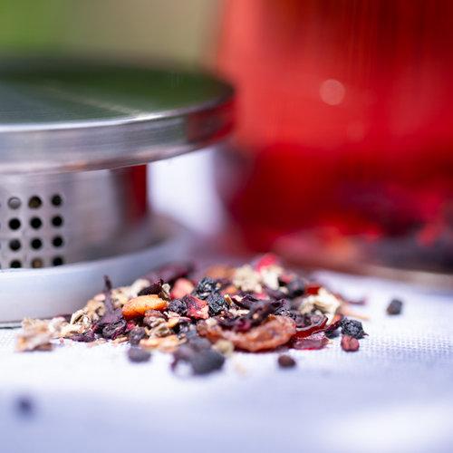 Frambozen medley biologisch | losse thee kopen