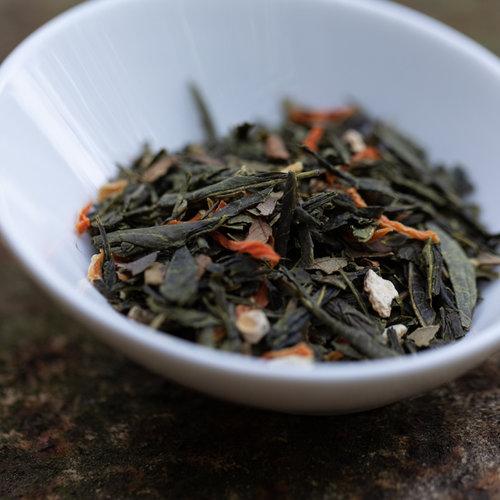 Losse Sencha gember citroen biologisch kopen | losse thee kopen