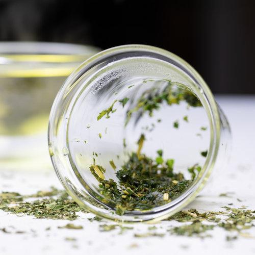 Trendglas Jena Glazen theefilter voor losse (kruiden)thee