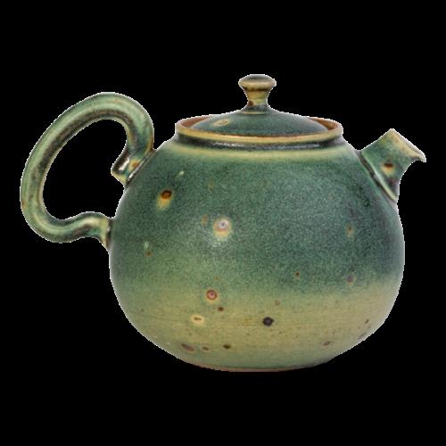 Handgemaakt theepotje van klei