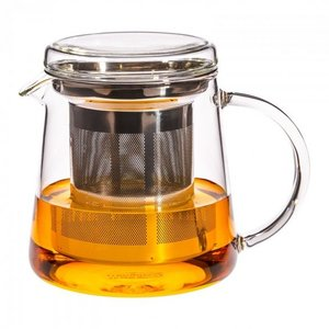 Theepotje Tea for two - rvs filter