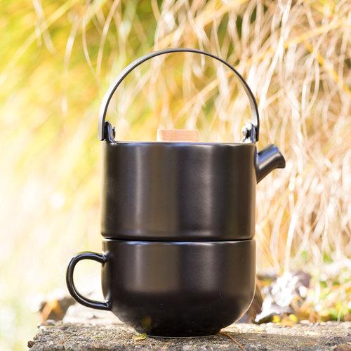 Bredemeijer Tea for one Umea - theepotje en mok