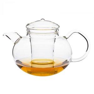 Glazen theepot Soma van hittebestendig borosilicaatglas