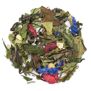 Witte thee Gember, Framboos, Acerola Biologisch