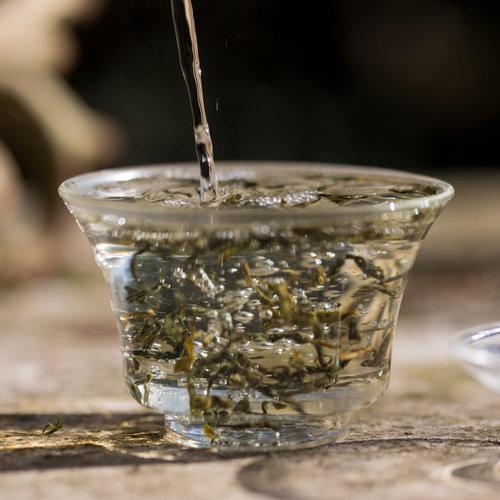 China Mao Feng Hua Hai Groen Biologisch | losse thee kopen
