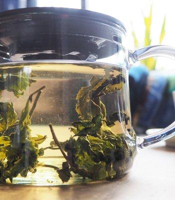 Een verrassend lekkere Java Halimun Jade Oolong thee