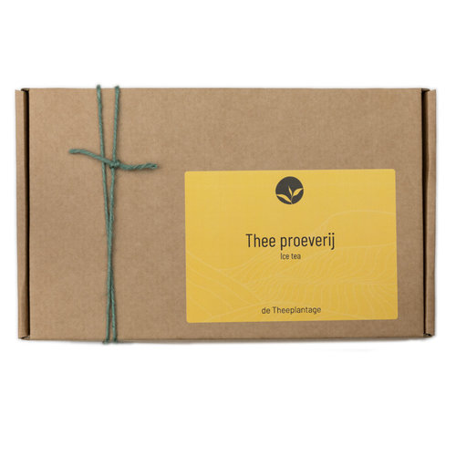 Thee proeverij - ice tea samples