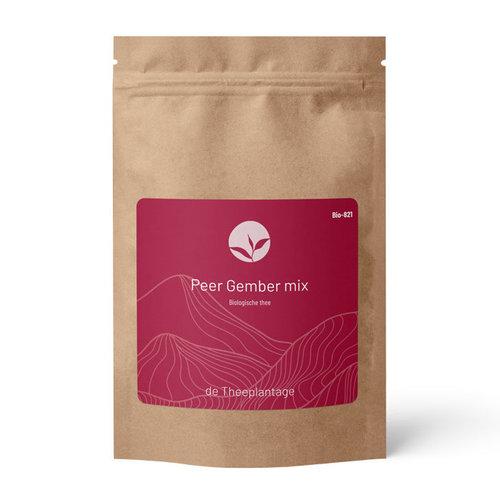 Peer Gember mix biologisch   losse thee kopen
