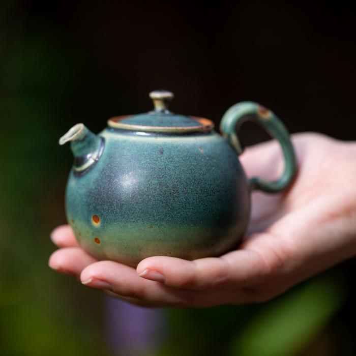 Losse groene thee zetten