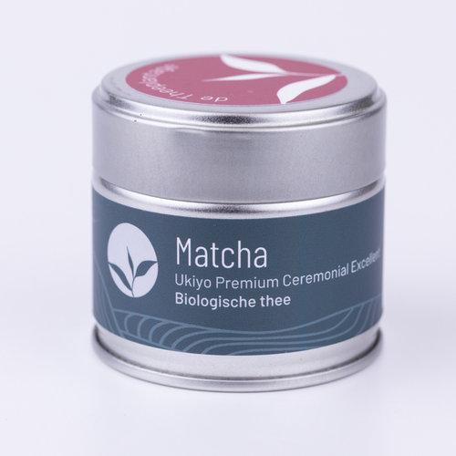 Matcha Thee Ukiyo Ceremonial Excellent Biologisch