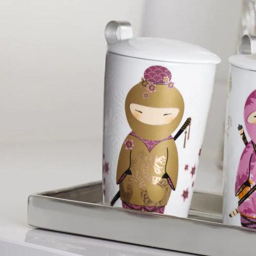 Eigenart TEAEVE Little Ninja Gold Mok met zeefje