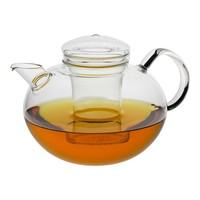 Glazen theepot Soma  van hittebestendig borosilicaatglas  inhoud 2 liter