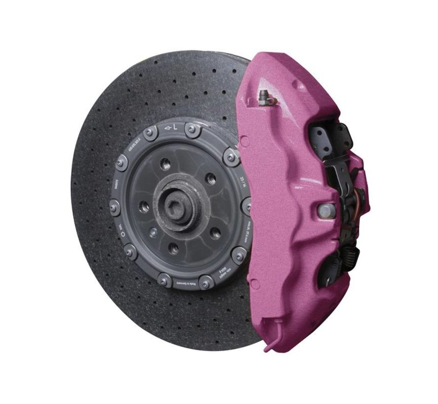Foliatec Remklauwlakset - candy roze metallic - 3 Komponenten