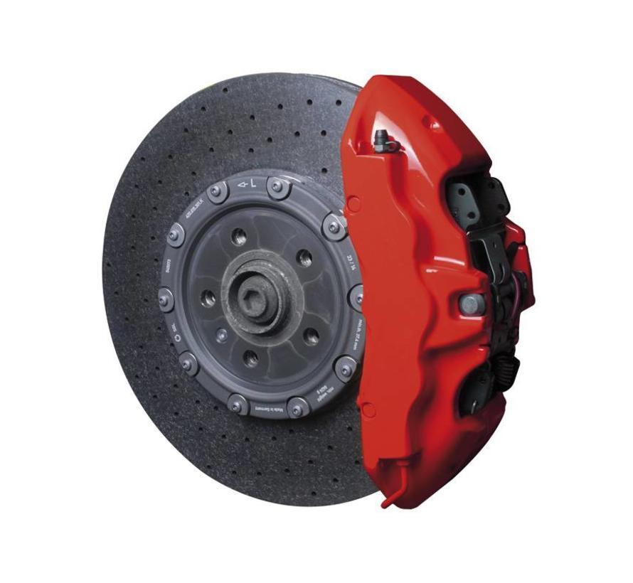 Foliatec Remklauwlakset - racing rosso - 3 Komponenten