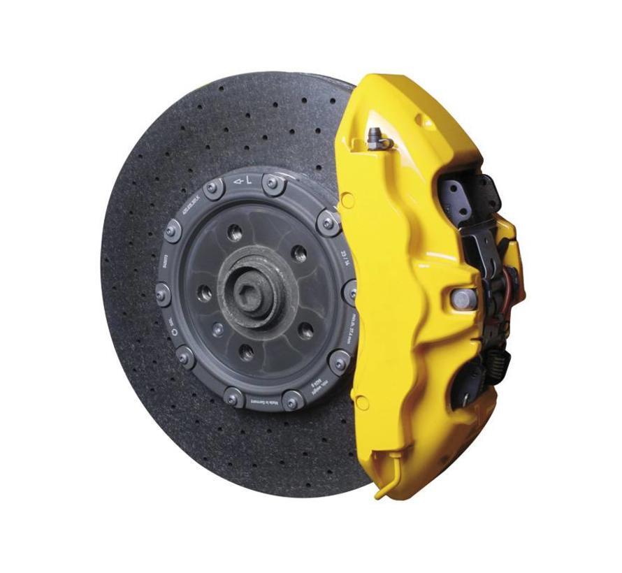 Foliatec Remklauwlakset - speed geel - 3 Komponenten