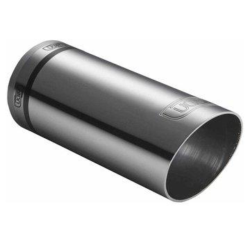 Autostyle Ulter Sport Uitlaatsierstuk - Rond O60mm Race - Lengte 150mm - Montage 30-50mm - RVS