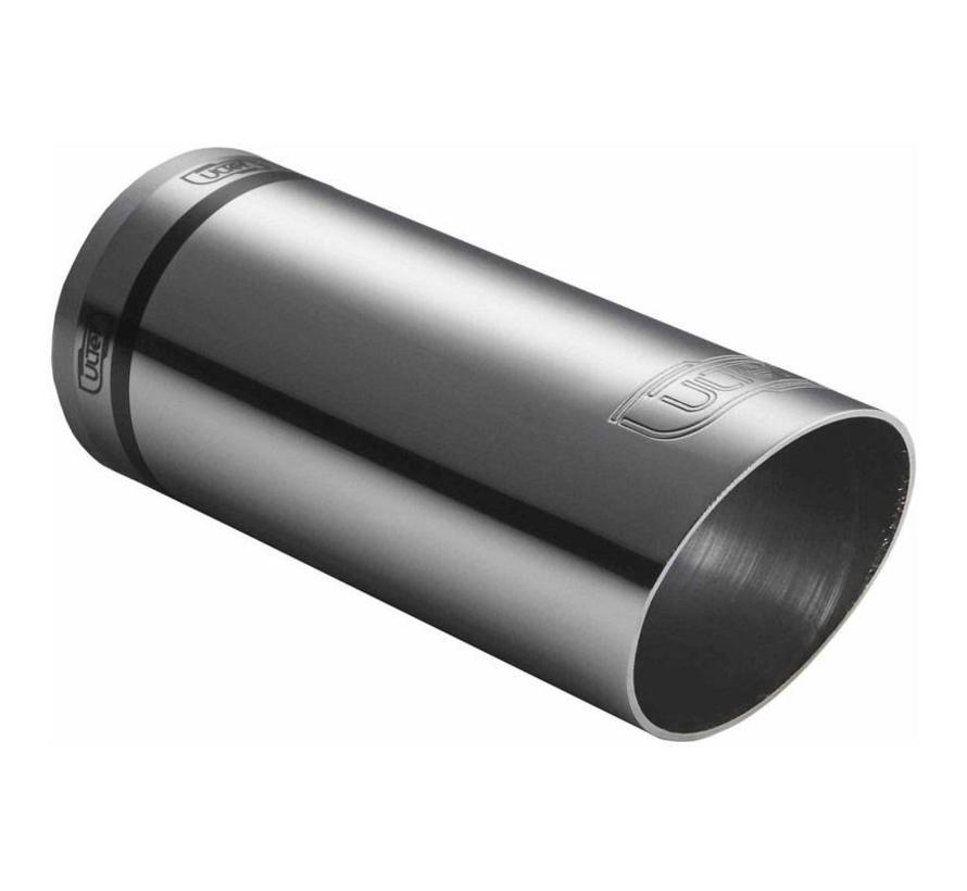 Ulter Sport Uitlaatsierstuk - Rond O60mm Race - Lengte 150mm - Montage 30-50mm - RVS