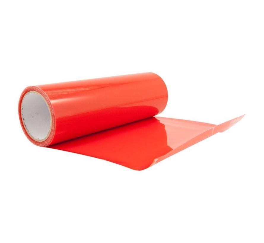 Koplamp-/achterlicht folie - Rood - 1000x30 cm