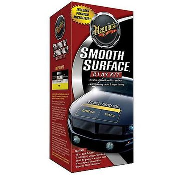 Meguiars Meguiars Smooth Surface Clay Kit (2x80g Klei/473ml Quik Detailer/ 1 Doek)